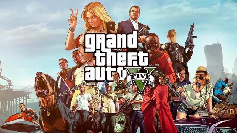Ключ Grand Theft Auto V